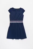 GUESS - Girls scuba dress - navy