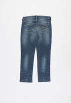 GUESS - Boys sand wash fashion skinny - indigo