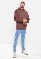 Cotton On - Pigment dyed oversized pullover - aged wine