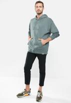 Cotton On - Pigment dyed oversized pullover - slate stone
