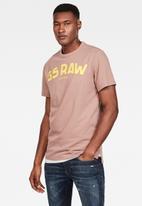 G-Star RAW - Gsraw gr r t short sleeve - brown