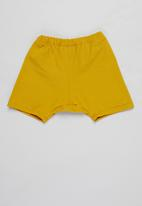 Superbalist Kids - T-shirt & shorts set - white & mustard