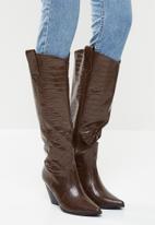 Z_Code_Z - Nuria western boot - brown