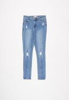 Free by Cotton On - Sally skinny jean - blue