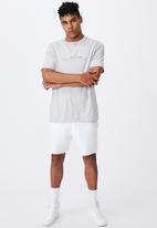 Factorie - Regular graphic T-shirt - grey marle