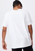 Factorie - Regular graphic t shirt - white