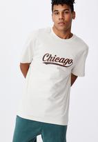 Factorie - Regular graphic T-shirt - ivory