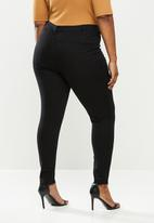 Missguided - Curve supersoft lawless jeans - black
