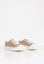 Cotton On - Classic trainer lace up - rose gold