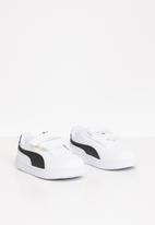 PUMA - Infants puma shuffle sneakers - white & black