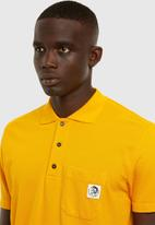 Diesel  - T-polo-worky polo shirt - yellow