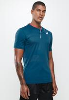 ASICS - Court m gpx polo - blue