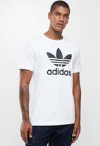 adidas Originals - Trefoil T-shirt  - white & black