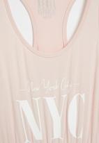 Rebel Republic - Girls maxi dress - light pink