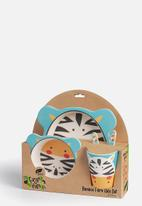 First for Earth - 5 pack meal set-zebra