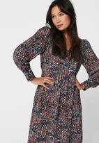 Jacqueline de Yong - Liv midi dress - multi