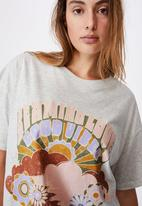 Cotton On - 90s T-shirt nightie - light grey