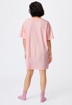 Cotton On - 90s T-shirt nightie - pink