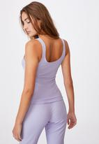 Cotton On - Button down bed top - lilac