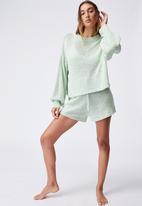 Cotton On - Summer lounge long sleeve - light green