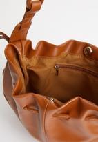Superbalist - Drawstring bucket bag - tan
