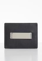 POLO - Nappa small money clip - black