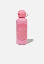 Cotton On - Aluminium drink bottle - pink