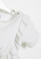 Superbalist Kids - Baby girls short sleeve dress - neutral