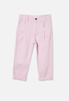 Cotton On - Rosita balloon leg jean - pale violet