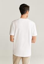 MANGO - Chelsea T-shirt - white