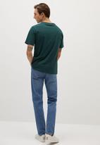 MANGO - Chelsea T-shirt - green