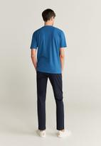 MANGO - Chelsea T-shirt - blue