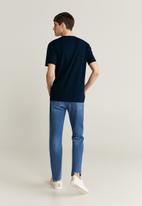 MANGO - Chelsea T-shirt - navy