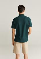 MANGO - Rea polo - green