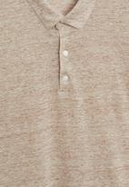 MANGO - Amberes polo - beige