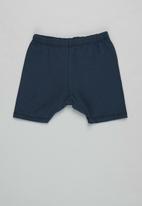 Superbalist Kids - 3 pack baby shorts - navy/white/baby blue