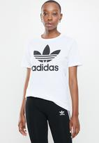 adidas Originals - Trefoil short sleeve tee - white