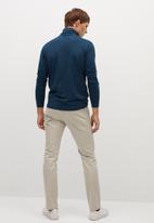 MANGO - Luton T-shirt - navy