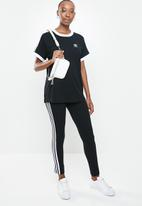 adidas Originals - 3 stripes short sleeve tee - black