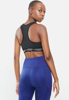 PUMA - Mid impact elastic bra - black