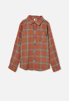 Free by Cotton On - Rocky long sleeve shirt - amber