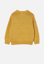 Cotton On - Pepper knit jumper - honey gold