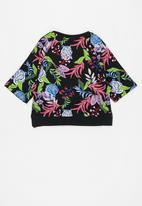 KIDS ONLY - Nellie life o-neck sweat top - multi