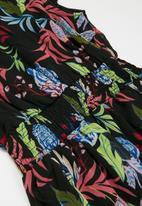 KIDS ONLY - Sina cap sleeve smock dress - multi