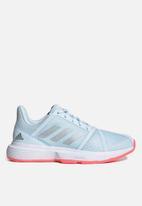 adidas Performance - Courtjam bounce w - skytin/silvmt/sigpnk