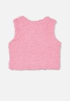 Cotton On - Alex vest - cali pink