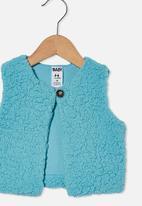 Cotton On - Alex vest - blue ice