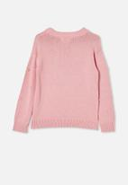 Free by Cotton On - Piper knit jumper - marshmallow