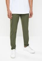 S.P.C.C. - Redmond engineered leg woven bottoms - khaki