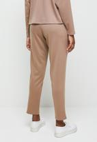 edit - Pull on ponti knit trouser - beige